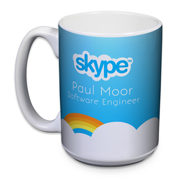 Individually Personalized 15 Oz. Mug