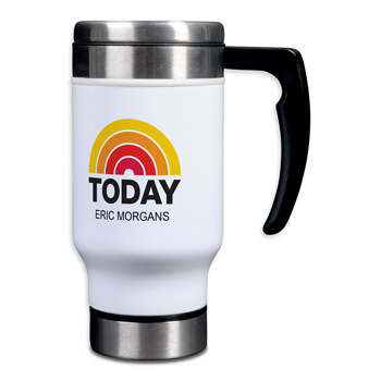 Individually Personalized Stainless Steel Travel Mugs